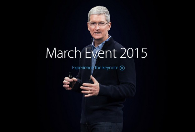Apple March Event 2015 Apple Watch
